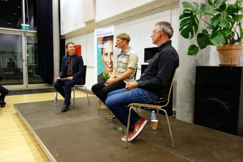 Julie Søgaard - moderator - Hearts & Minds 2017
