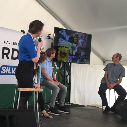 Julie Søgaard styrer debat om bier - Cph Garden 2019