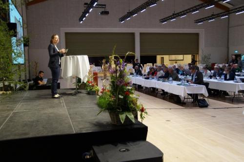 Ordstyrer på Naturstyrelsens konference Mulighedernes Rum 2019